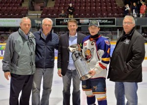 Had the pleasure of being at the Start Talking Cup on January 18 in support of youth mental health services.