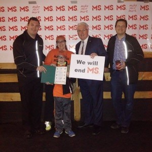 400+ in Barrie on May 1, for MS Society of Canada MS Walk. Glad to be there to support the walk.