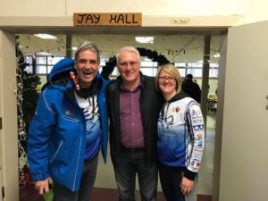 New Years Eve with Joe Roberts (The Push For Change), the Rotary Club of Barrie Huronia, and the Rotary Club of Innisfil at Joe's breakfast for homeless youth and adults.