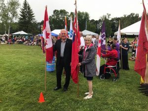Glad to be part of Celebrate Lake Simcoe and Pow Wow, showcasing Indigenous culture on July 22.