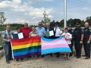 At 6th Annual Simcoe Pride on August 3.