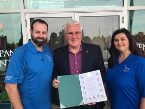 Glad to join Creative Cafe and Art Studio on 10 years in business in Barrie and celebrating a new location on October 21.