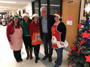 "Incredible school spirit at Goodfellow Public School ""Sweater Weather Get Together"" on December 2."